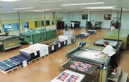 CAP sérigraphie industrielle CFA de Carpentras