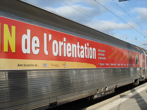 Train de l 39 orientation nice for Salon de l etudiant nice