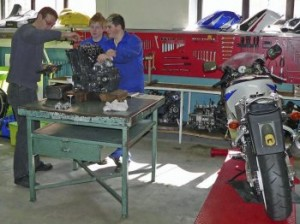CAP, BAC PRRO maintenance motocycles CFA la Chataigneraie