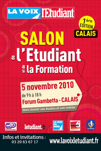 salon de l 39 tudiant calais