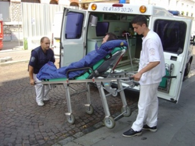 DE ambulancier en Picardie